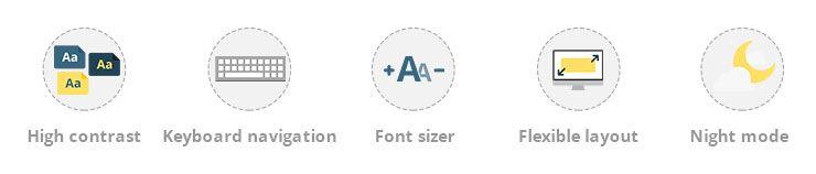 accessibility ready wordpress theme