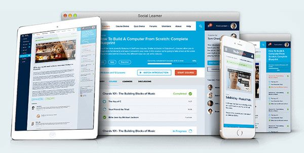 learndash BuddyPress integration theme