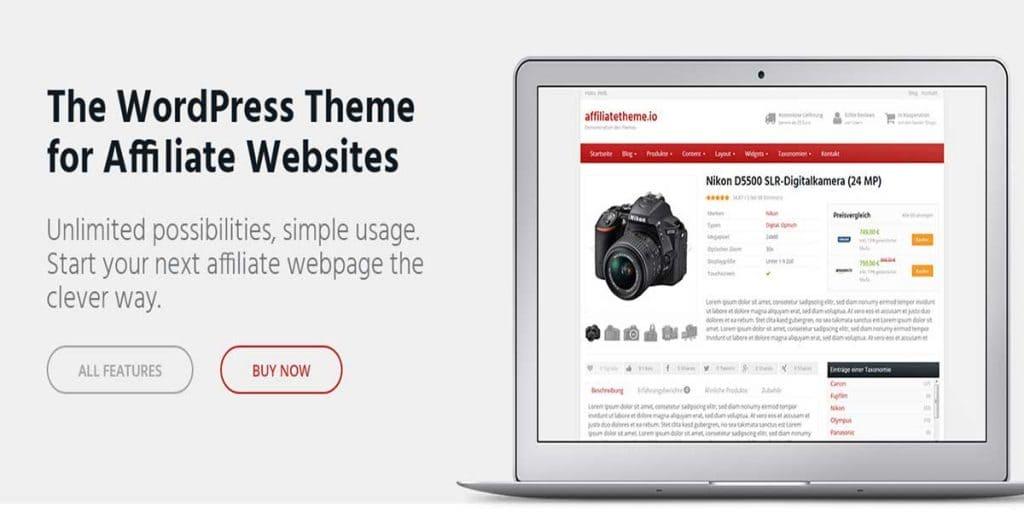 Affiliate Theme Review Best WordPress Affiliate Theme