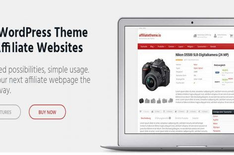 Affiliate Theme Review – Best WordPress Affiliate Theme?