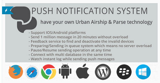 push notification plugin for WordPress