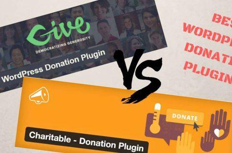 Best WordPress And WooCommerce Donation Plugin? Give vs Charitable