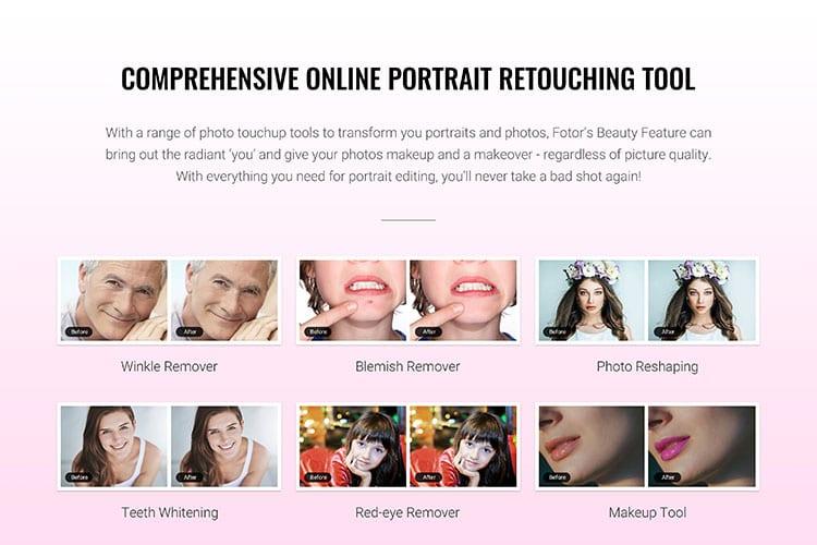 fotor online photo editing