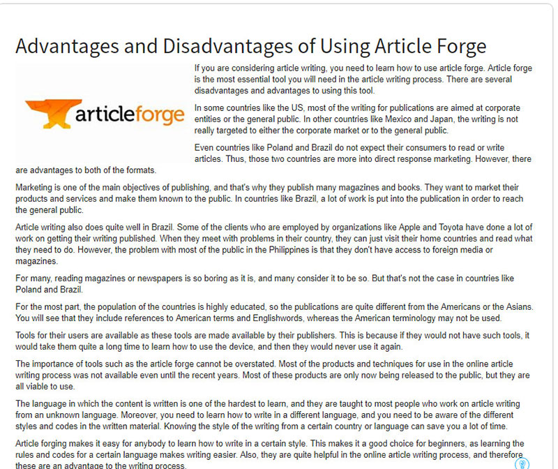 article forge alternatives