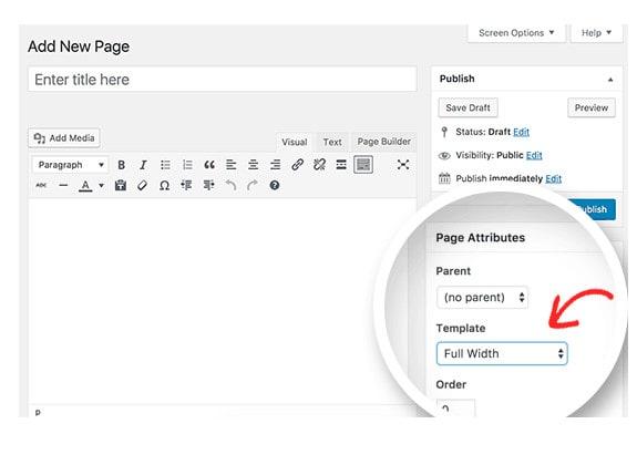 delete wordpress sidebar