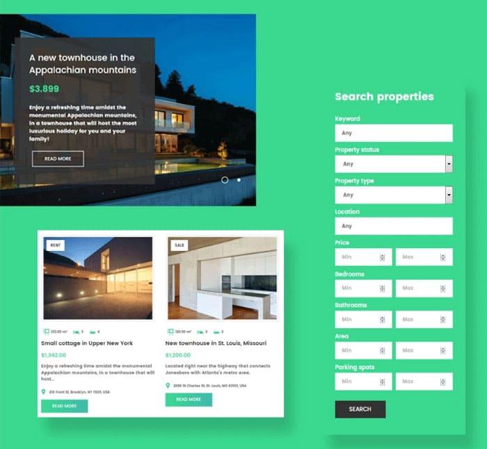 Cherry Real Estate plugin