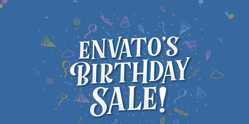 Envato Birthday Sale 50% OFF 300+ Products