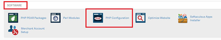 upgrading php version in WordPress cpanel inmotion