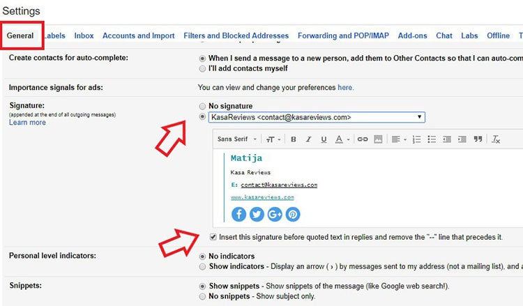 How to Add Email Signature in Gmail