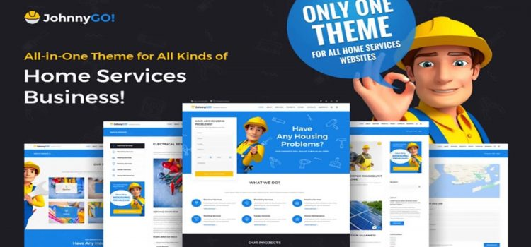 JohnnyGo Theme Review WordPress Theme For Home Remodeling Businesses