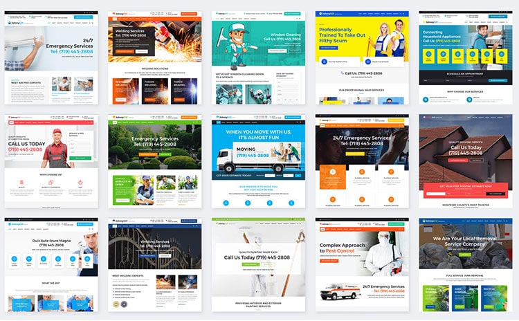 Multipurpose Home Services WordPress Theme johnnygo