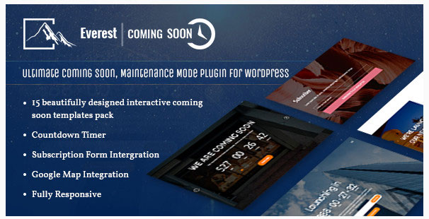 everest coming soon plugin review