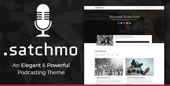 Satchmo theme review second line themes