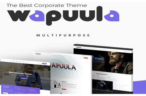 Wapuula Theme Review | WordPress Theme for Corporate Sites