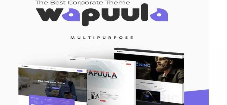 Wapuula theme review corporate site