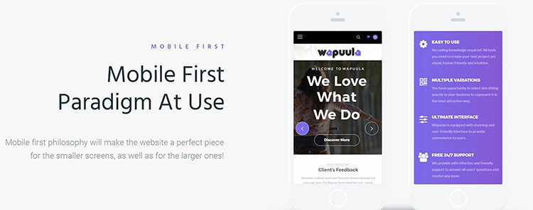 wapuula mobile-first paradigm