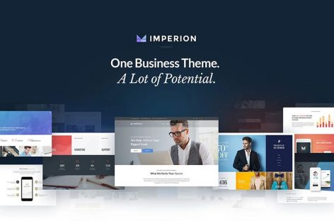 Imperion Theme Review | Multipurpose WordPress Theme For Business And Finance