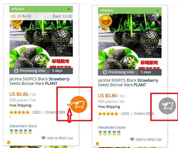 aliexpress import products to site