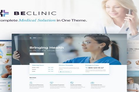 BeClinic Theme Review | Multipurpose Medical WordPress Theme