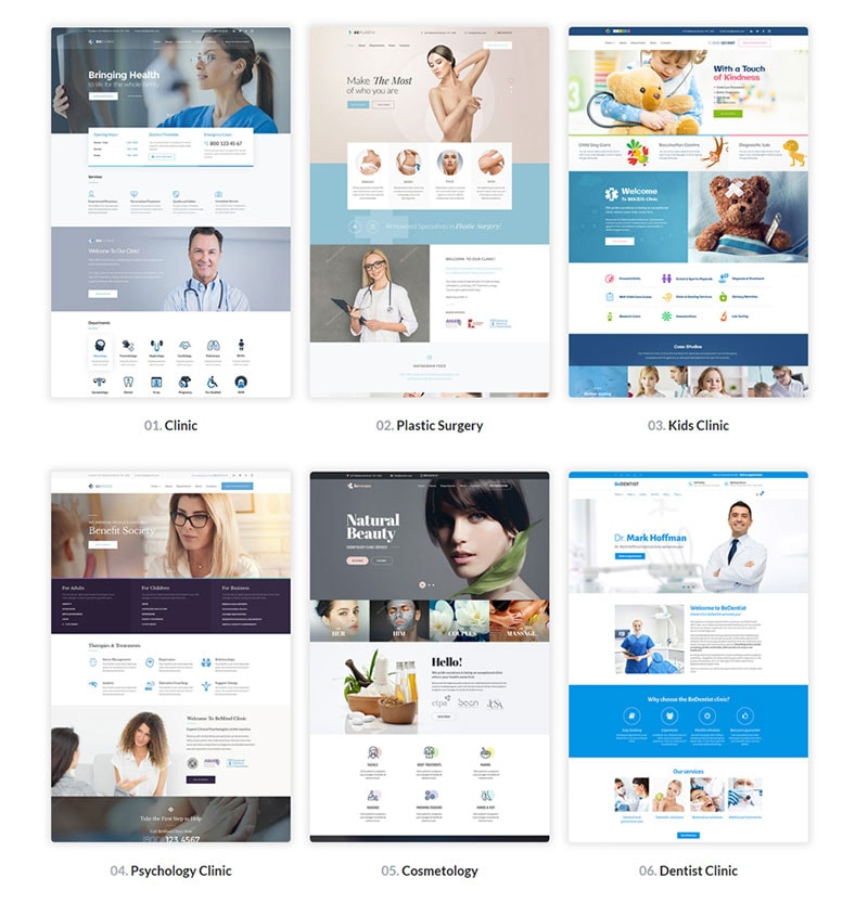 best WordPress Theme for Medical Sites