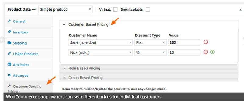 customer specific pricing woocommerce plugin review