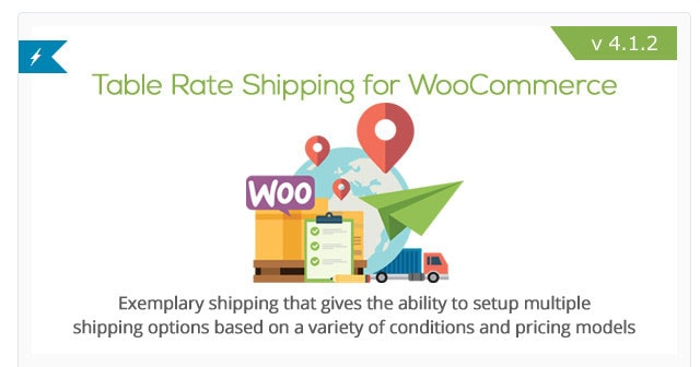 table rate shipping for woocommerce review