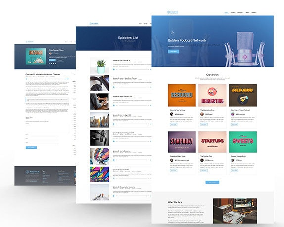 Best Podcast Network WordPress Theme