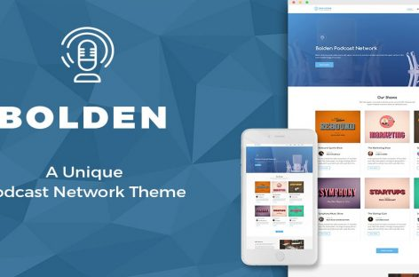 Bolden Theme Review | Best Theme For Podcast Networks?