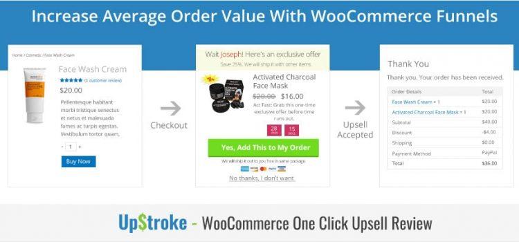WooCommerce One Click Upsells