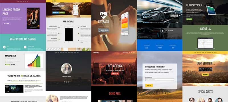 themify ultra theme pre designed layouts