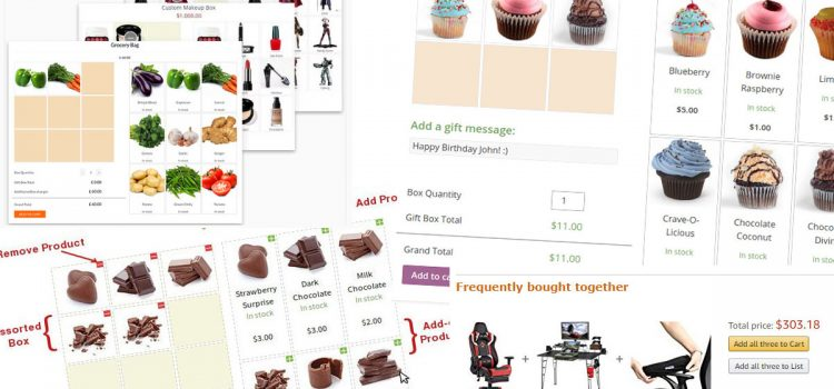 upsell products woocommerce product bundling