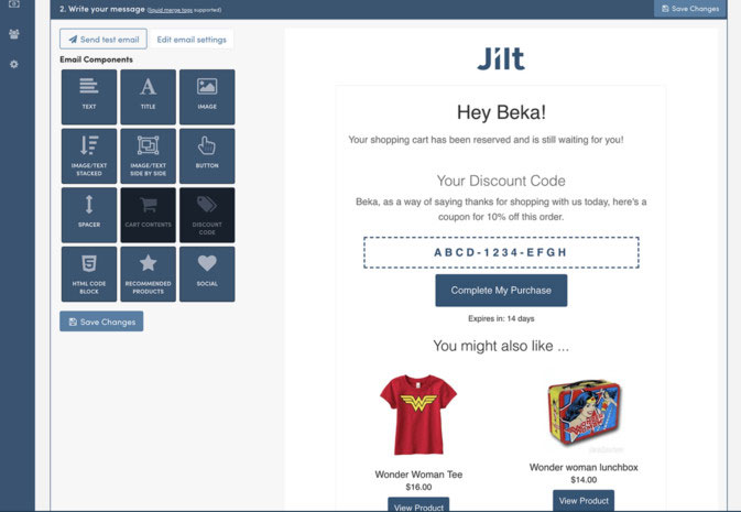 cart recovery tool for WooCommerce