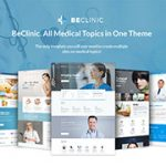 beclinic template monster theme