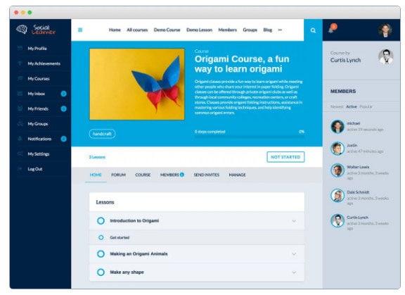 participate in courses