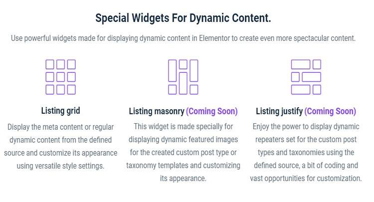 dynamic content elementor