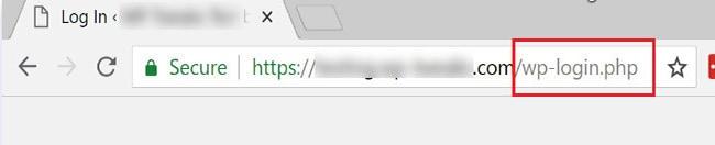 hide wordpress login url