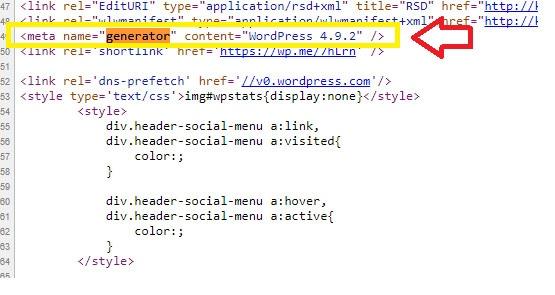 hide wordpress plugin version number