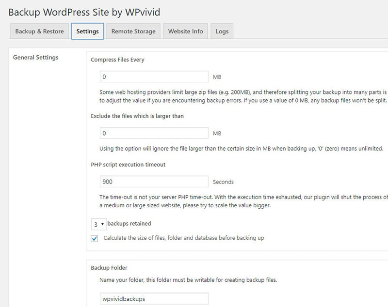 onedrive wordpress backup plugin
