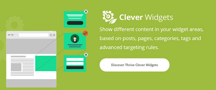 show different content in your widget area