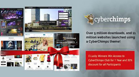 cyberchimps giveaway