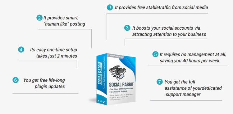social rabbit pros and cons