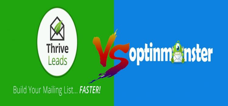 thrive leads vs optinmonster comparison features