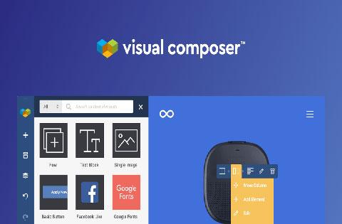 visual composer website builder premium vs free