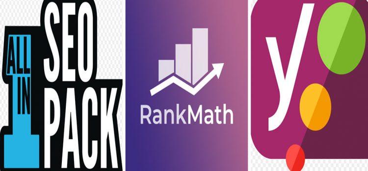 Rank Math vs All In One SEO vs Yoast SEO