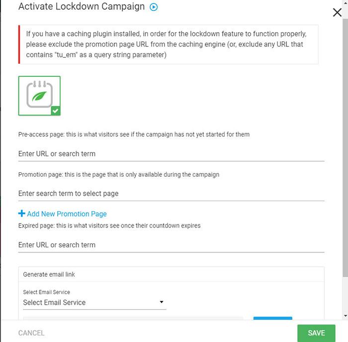 lockdown campaign feature