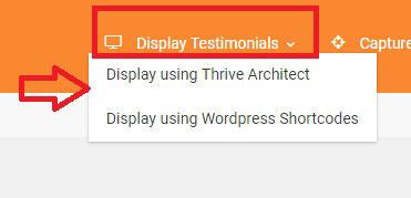 display testimonials wordpress website