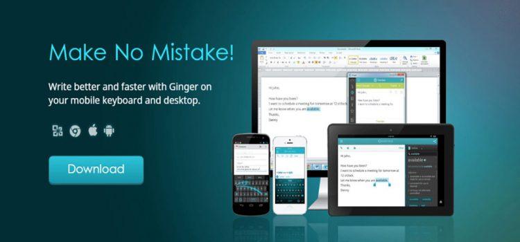 ginger review english grammar app