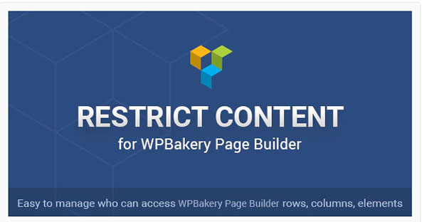 restrict content wpbakery