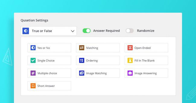 tutor lms quiz creator feature