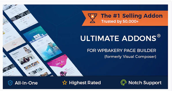 ultimate addons for wpbakery page builder